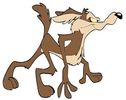 Wile E  Coyote and the Road Runner